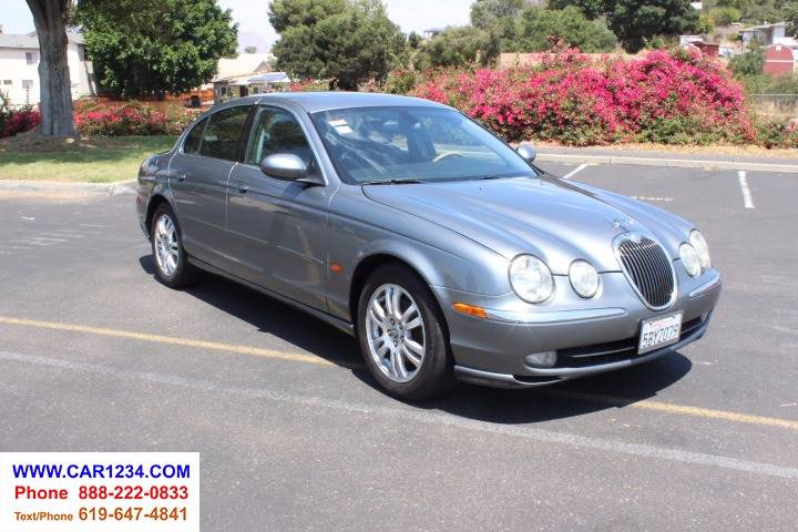 2003 Jaguar S Type For Sale At Car 1234 Inc In El Cajon CA