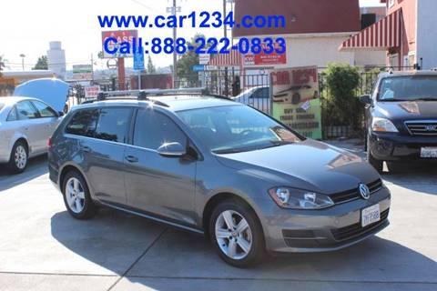 2015 Volkswagen Golf SportWagen for sale in El Cajon, CA