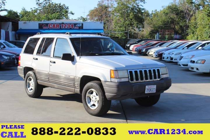 1996 Jeep Grand Cherokee For Sale At Car 1234 Inc In El Cajon CA