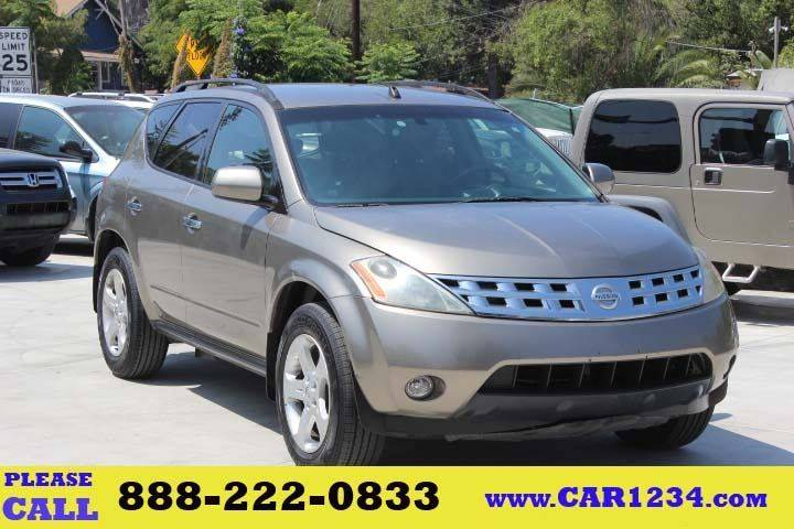 2003 Nissan Murano For Sale At Car 1234 Inc In El Cajon CA