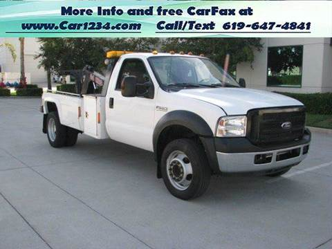 2007 Ford F-550 for sale in El Cajon, CA