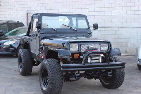 1991 Jeep Wrangler for sale in El Cajon, CA