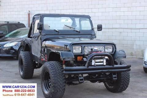 1991 Jeep Wrangler For Sale In El Cajon CA
