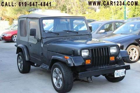 1992 Jeep Wrangler for sale in El Cajon, CA