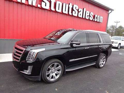 2015 Cadillac Escalade for sale at Stout Sales in Fairborn OH