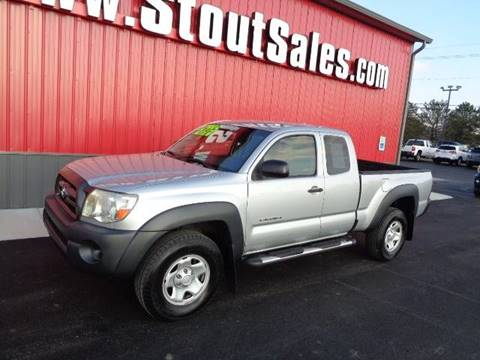 2010 Toyota Tacoma for sale at Stout Sales in Fairborn OH