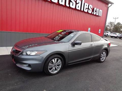 2011 Honda Accord for sale at Stout Sales in Fairborn OH