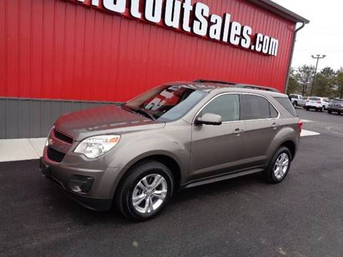 2011 Chevrolet Equinox for sale at Stout Sales in Fairborn OH