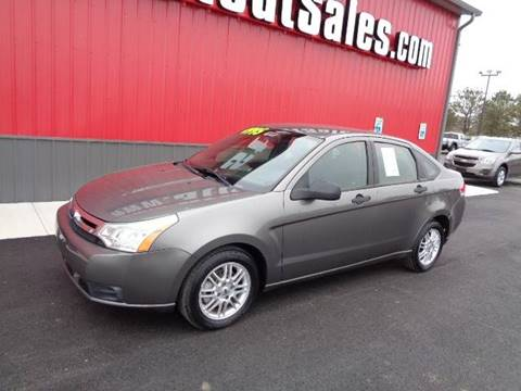 2009 Ford Focus for sale at Stout Sales in Fairborn OH