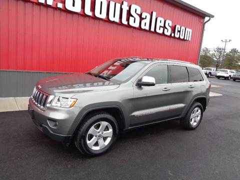 2012 Jeep Grand Cherokee for sale at Stout Sales in Fairborn OH