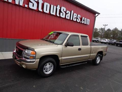 2004 GMC Sierra 1500 for sale at Stout Sales in Fairborn OH