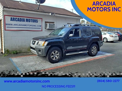 Nissan Xterra For Sale In Heathsville Va Arcadia Motors Inc
