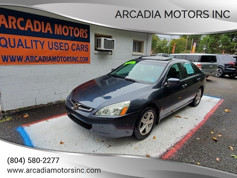 2004 Honda Accord for sale in Heathsville, VA