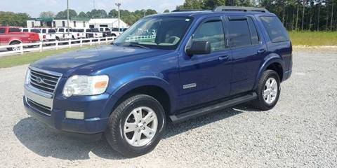 2007 Ford Explorer for sale at Jackson Automotive in Smithfield NC