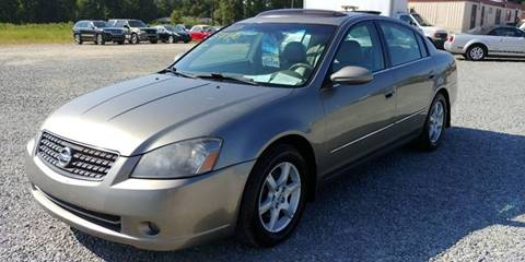 2005 Nissan Altima for sale at Jackson Automotive in Smithfield NC