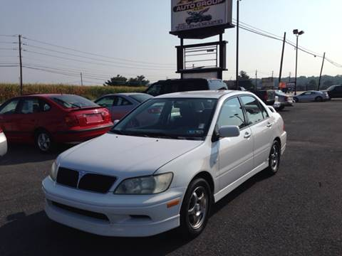 2002 Mitsubishi Lancer for sale at A & D Auto Group LLC in Carlisle PA