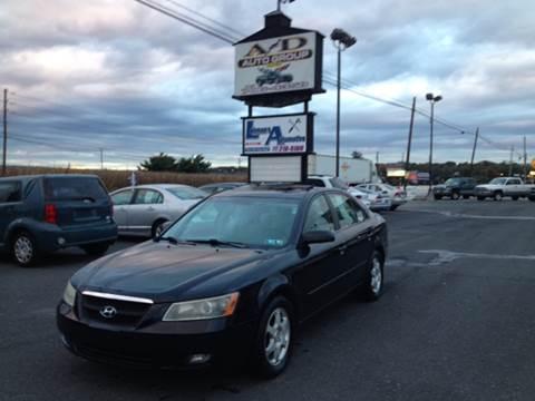 2006 Hyundai Sonata for sale at A & D Auto Group LLC in Carlisle PA