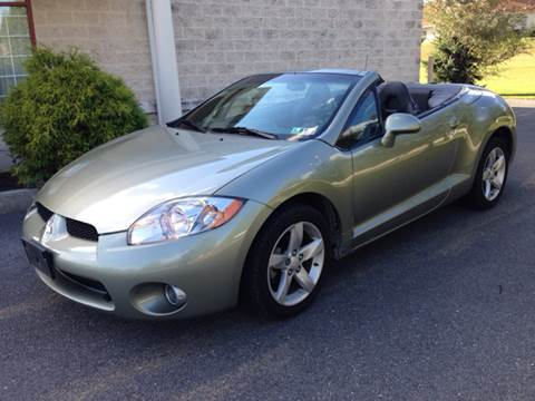 2008 Mitsubishi Eclipse Spyder for sale at A & D Auto Group LLC in Carlisle PA