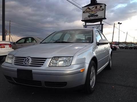2002 Volkswagen Jetta for sale at A & D Auto Group LLC in Carlisle PA