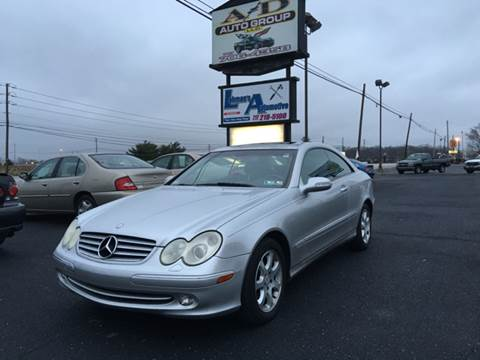 2003 Mercedes-Benz CLK for sale at A & D Auto Group LLC in Carlisle PA