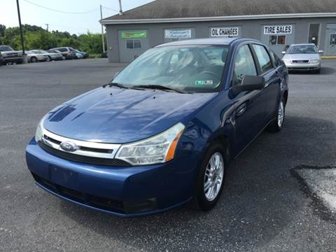 2008 Ford Focus for sale at A & D Auto Group LLC in Carlisle PA