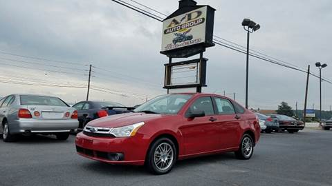 2010 Ford Focus for sale at A & D Auto Group LLC in Carlisle PA