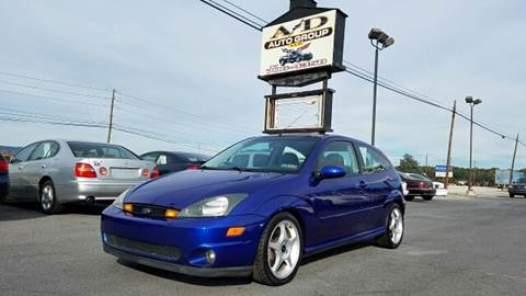 2002 Ford Focus SVT for sale at A & D Auto Group LLC in Carlisle PA