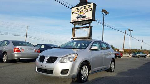 2010 Pontiac Vibe for sale at A & D Auto Group LLC in Carlisle PA