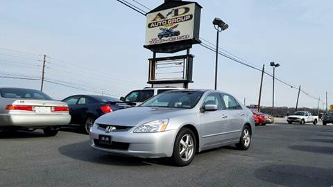 2003 Honda Accord for sale at A & D Auto Group LLC in Carlisle PA