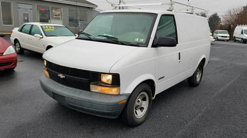 2001 Chevrolet Astro Cargo for sale at A & D Auto Group LLC in Carlisle PA