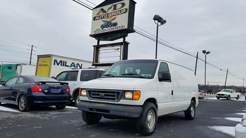 2004 Ford E-Series Cargo for sale at A & D Auto Group LLC in Carlisle PA