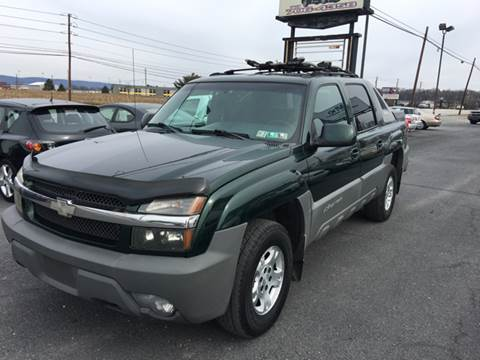 2002 Chevrolet Avalanche for sale at A & D Auto Group LLC in Carlisle PA