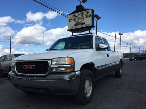 2002 GMC Sierra 1500 for sale at A & D Auto Group LLC in Carlisle PA