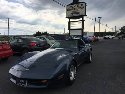 1980 Chevrolet Corvette for sale at A & D Auto Group LLC in Carlisle PA