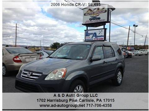 2006 Honda CR-V for sale at A & D Auto Group LLC in Carlisle PA