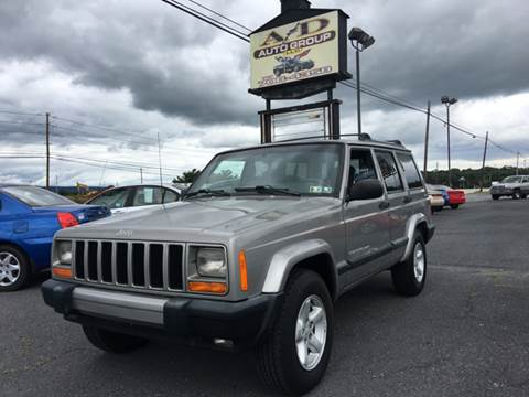 2000 Jeep Cherokee for sale at A & D Auto Group LLC in Carlisle PA