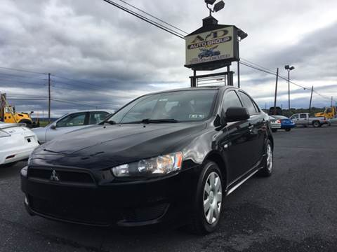 2010 Mitsubishi Lancer for sale at A & D Auto Group LLC in Carlisle PA