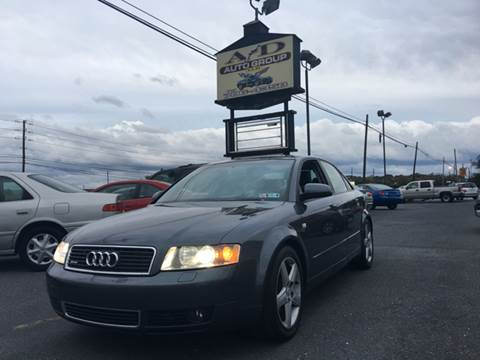 2004 Audi A4 for sale at A & D Auto Group LLC in Carlisle PA