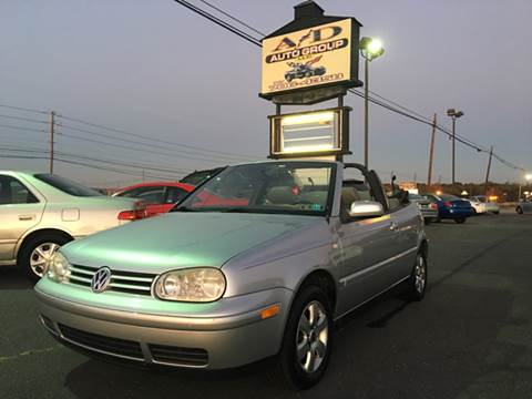 2002 Volkswagen Cabrio for sale at A & D Auto Group LLC in Carlisle PA