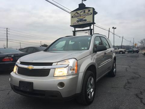 2007 Chevrolet Equinox for sale at A & D Auto Group LLC in Carlisle PA