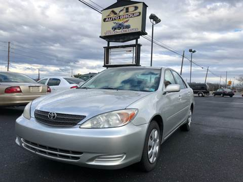 2002 Toyota Camry for sale at A & D Auto Group LLC in Carlisle PA