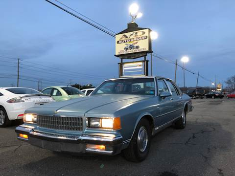 1986 Chevrolet Caprice for sale at A & D Auto Group LLC in Carlisle PA