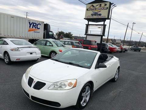 2007 Pontiac G6 for sale at A & D Auto Group LLC in Carlisle PA