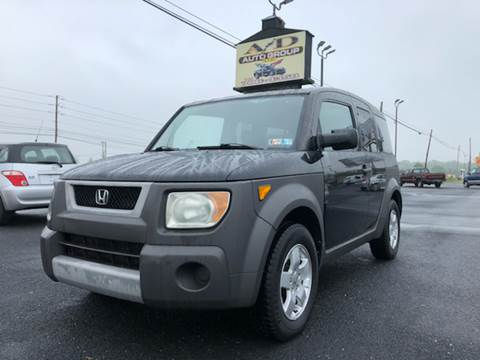 2003 Honda Element for sale at A & D Auto Group LLC in Carlisle PA