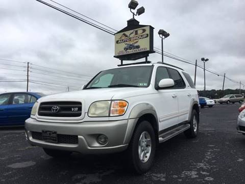 2003 Toyota Sequoia for sale at A & D Auto Group LLC in Carlisle PA