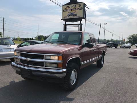 1998 Chevrolet C/K 1500 Series for sale at A & D Auto Group LLC in Carlisle PA