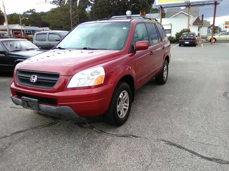 2003 Honda Pilot 4dr EX-L 4WD SUV w/ Leather and Entertainment System - Somerset MA