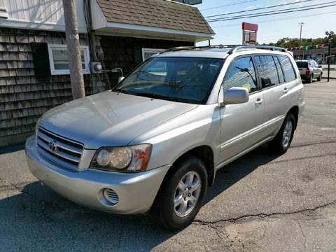 2002 Toyota Highlander for sale in Somerset, MA