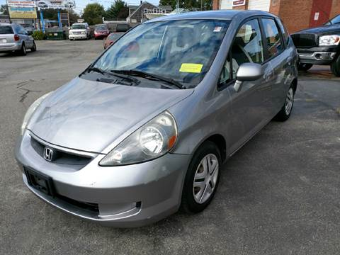 2007 Honda Fit for sale in Somerset, MA