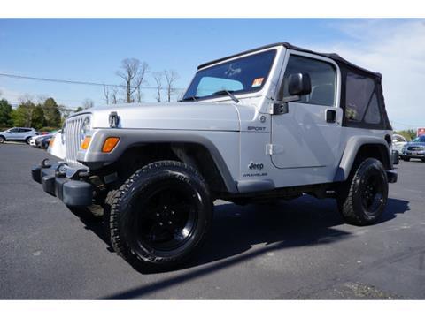 2005 Jeep Wrangler for sale in West Long Branch, NJ
